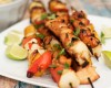 Chicken Skewers with Spicy Peanut Sauce